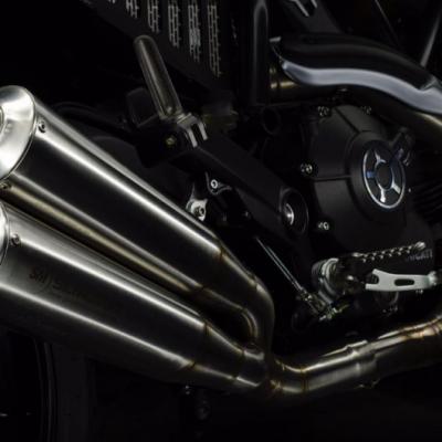 Double silencieux bas Sil Motor