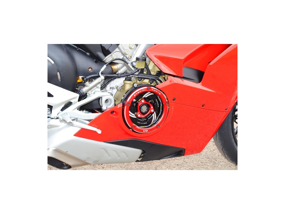 Ccv401 clear clutch cover panigalev4 2