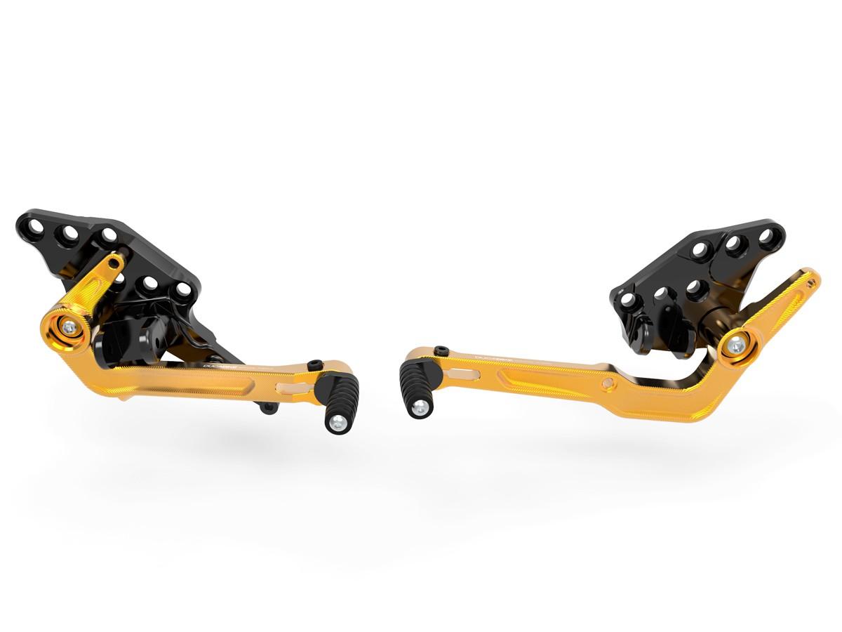 Prdv12601 diavel 1260 adjustable rearset 1