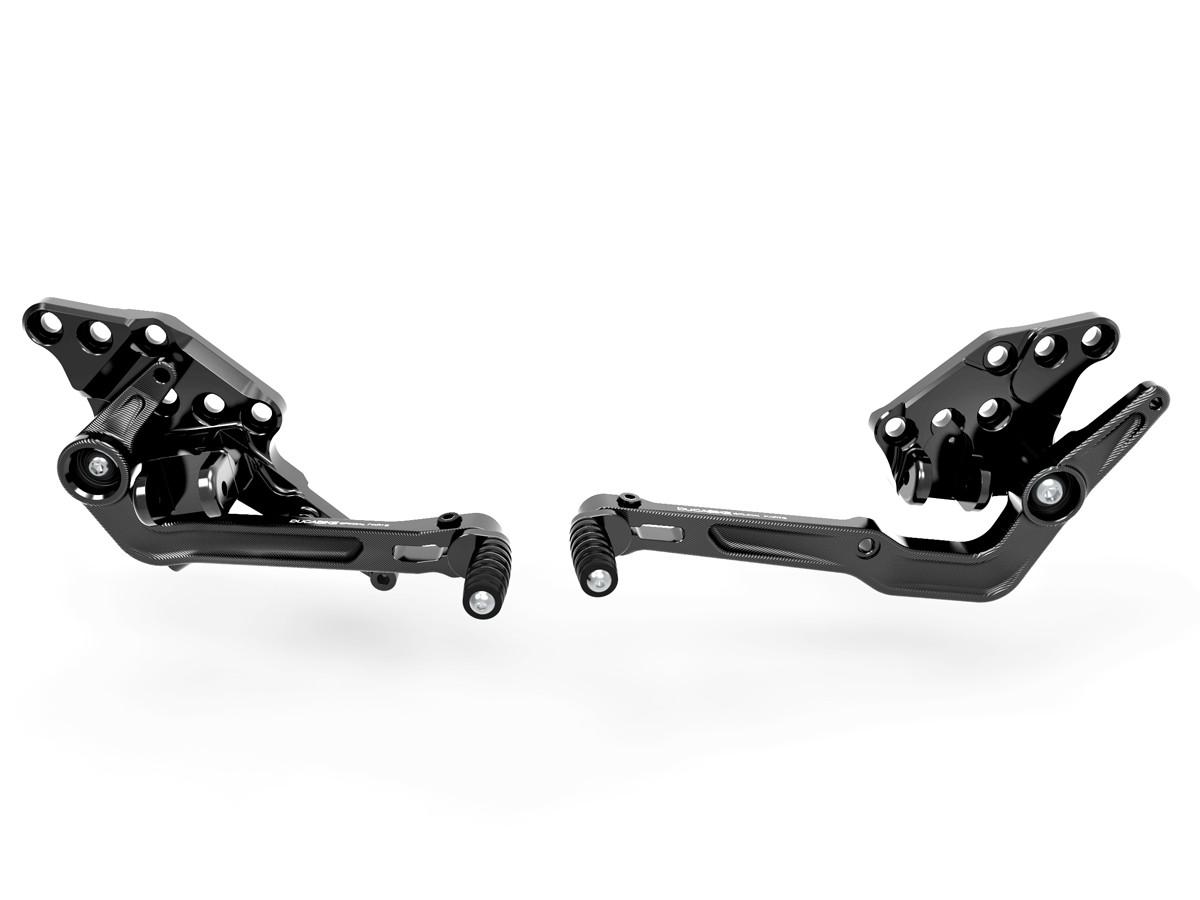 Prdv12601 diavel 1260 adjustable rearset 2