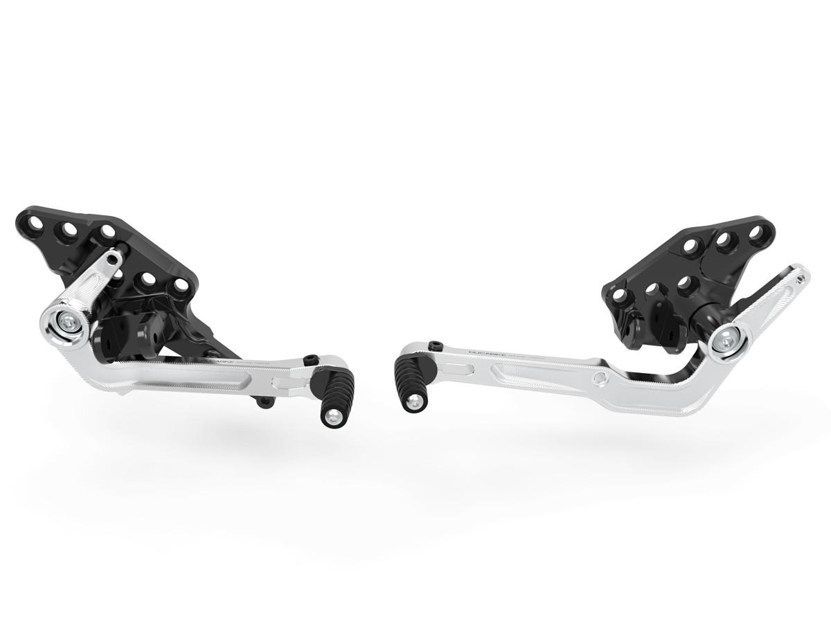 Prdv12601 diavel 1260 adjustable rearset 3
