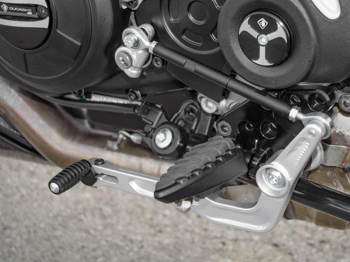 Prdv12601 diavel 1260 adjustable rearset 5