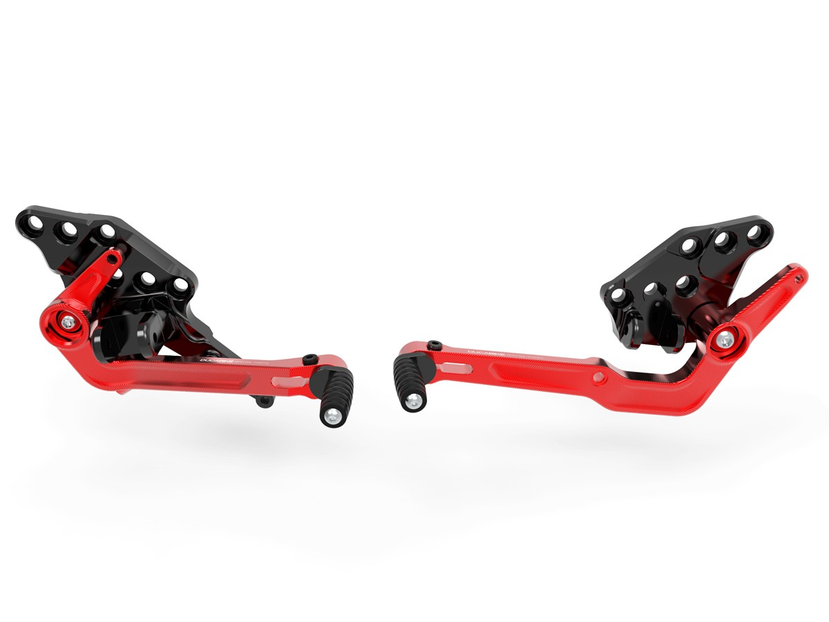 Prdv12601 diavel 1260 adjustable rearset 7
