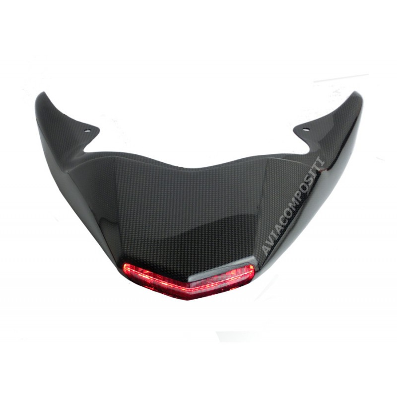 Tail in carbon fiber for hypermotard 1100 796 with mono exhaust 1