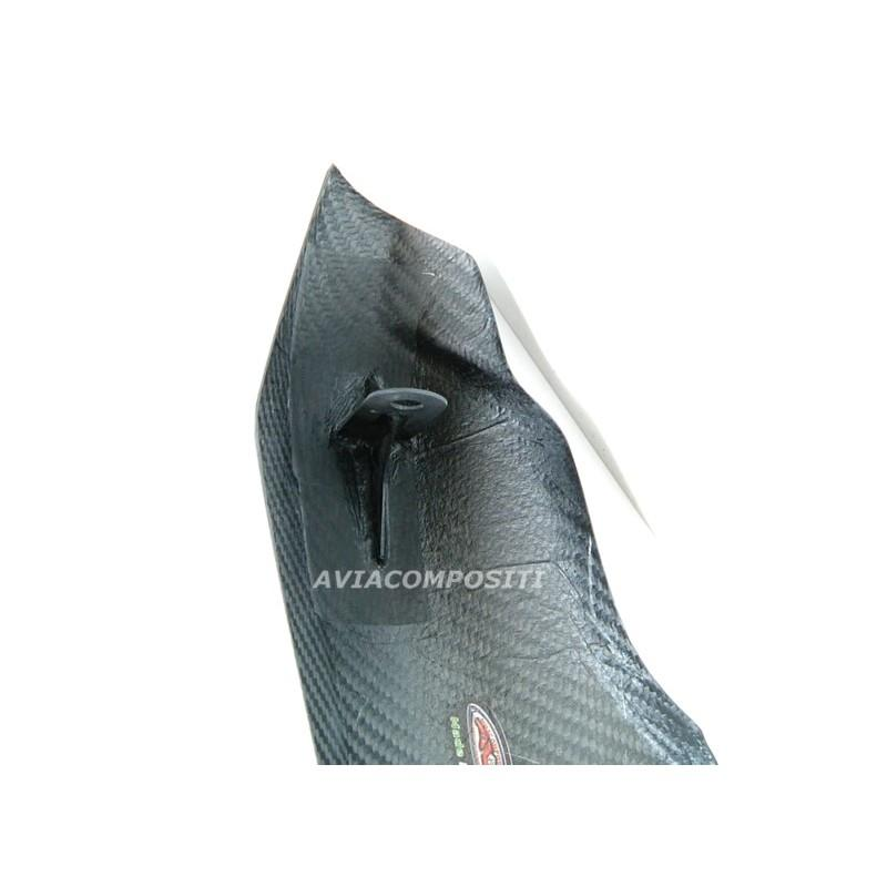 Tail in carbon fiber for multistrada 1100 1000 620 1